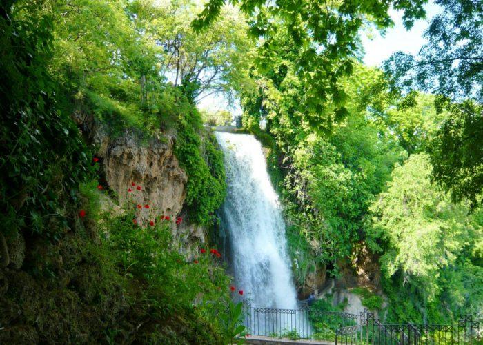 image displaying Edessa waterfalls, north Greece