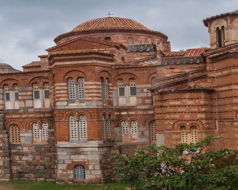 Saint Lucas monastery near Delphi