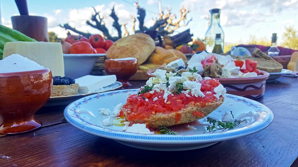 image showing traditional Cretan dish