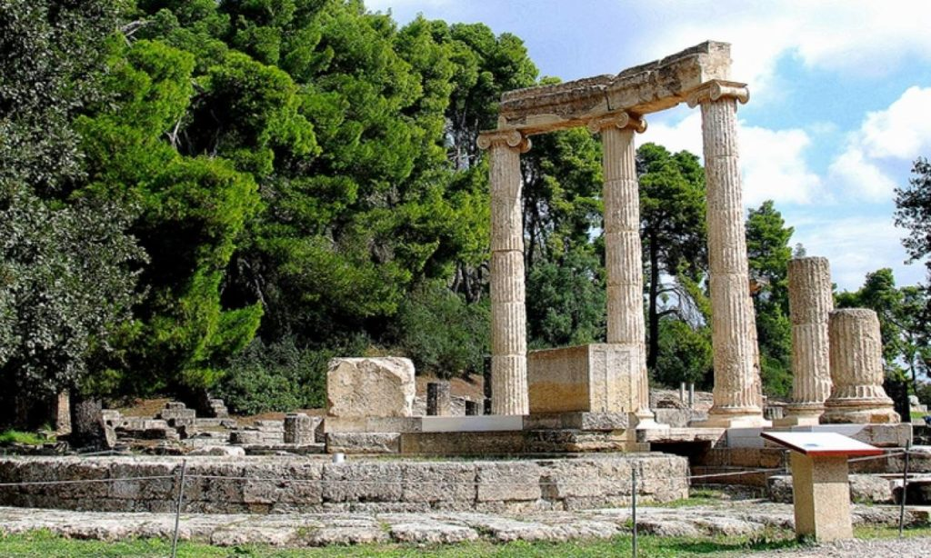 ancient olympia temple of zeus