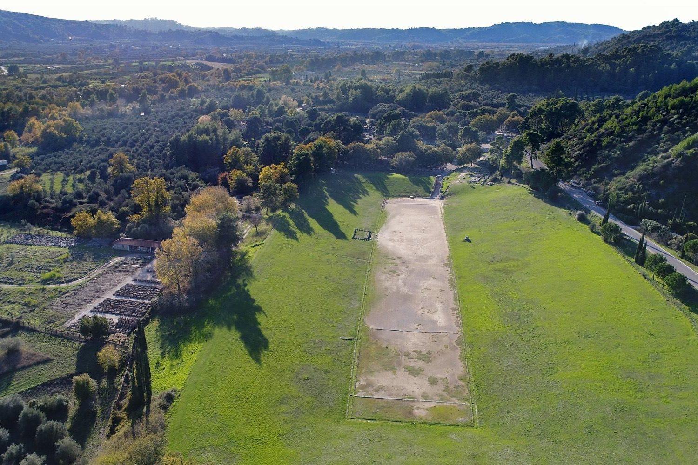 stadium of ancient olympia
